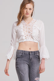 storets.com Jenna Laced Crop Top