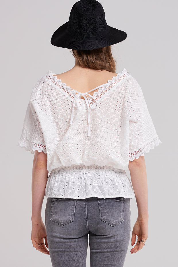 Ellie Shirred Summer Top