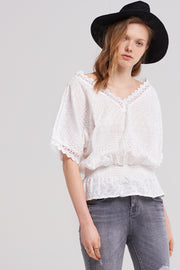 storets.com Ellie Shirred Summer Top