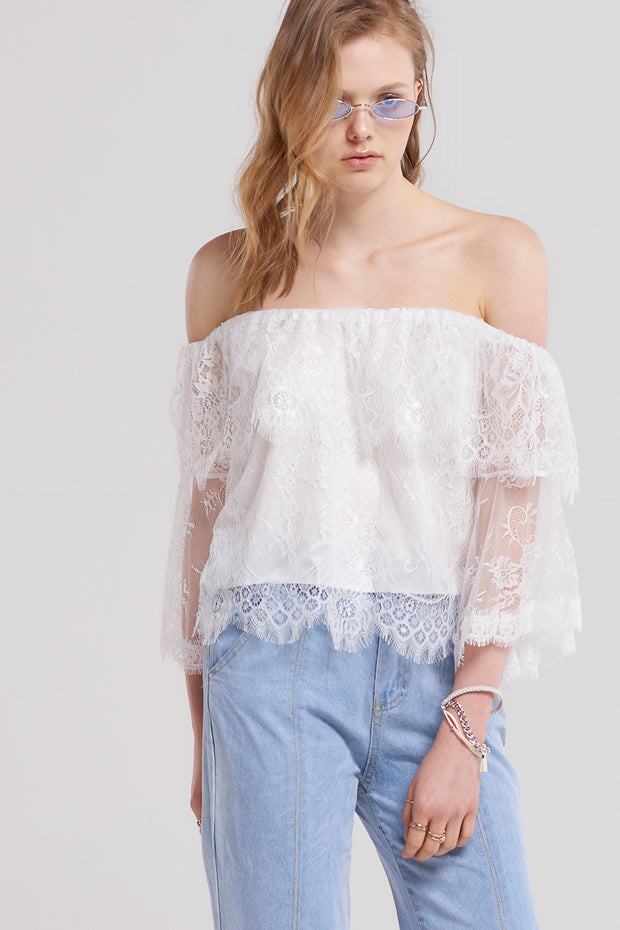 Arial Chabet Lace Blouse