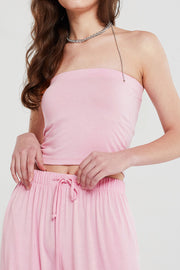 Caroline Cropped Tube Top
