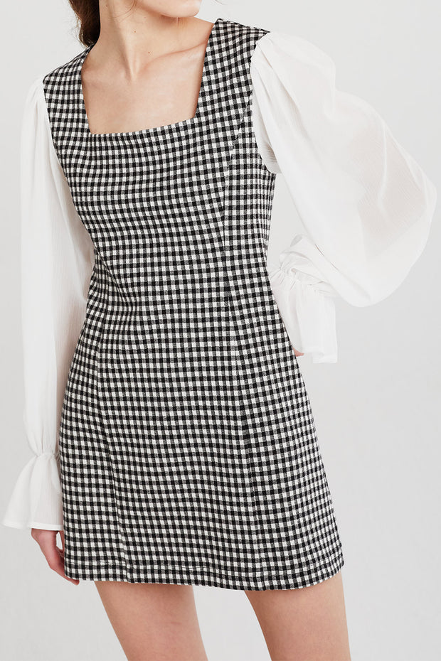 Melody Gingham Dress
