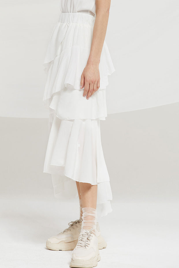 Helena Tiered Ruffle Skirt