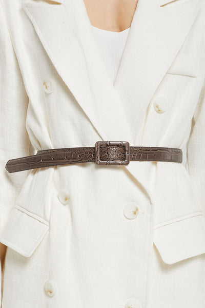 Crocodile Pattern Belt by STORETS