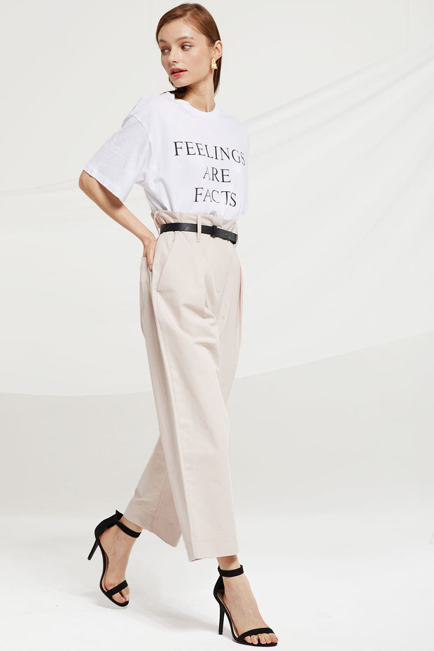 Jazmin Paperbag Wide Leg Pants