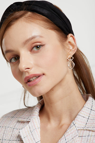 Clear Acrylic Linked Earrings by STORETS
