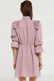 Meadow Frill Trim Dress