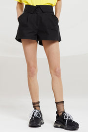 Paige Fold-over Waist Shorts