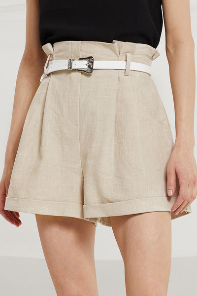 Jaelyn High Rise Linen Shorts