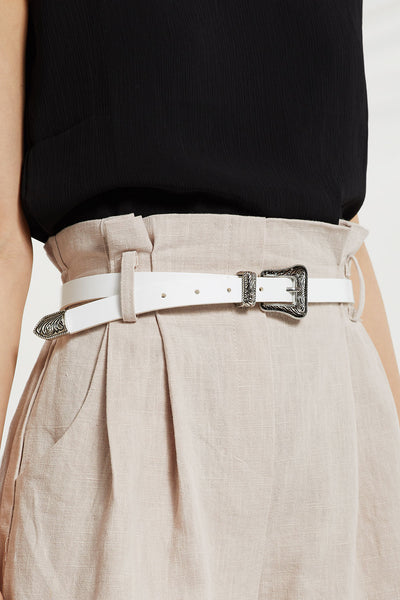 Western Buckle Waist Belt by STORETS