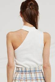 Alexis One Shoulder Knit Top