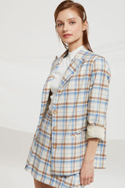Aegle Multi Check Jacket