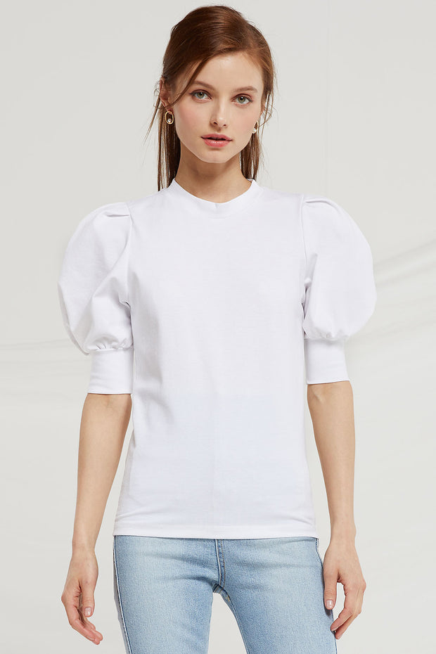 Holly Half Puff Sleeve Top