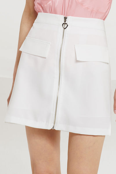 Cameron Zip Up Skirt