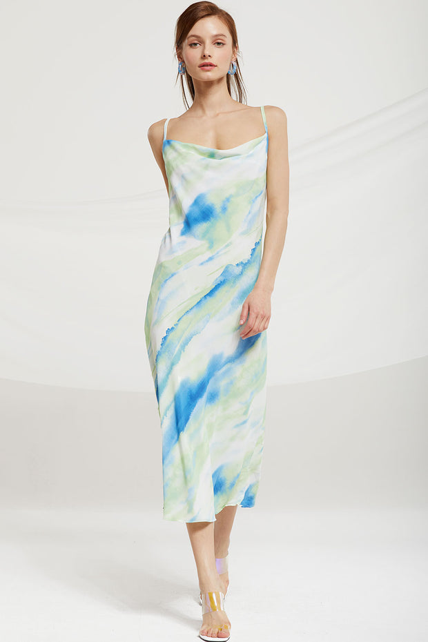 Avalynn Tie Dye Cami Dress