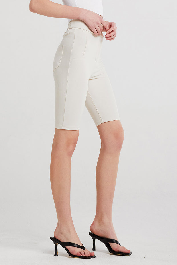 storets.com Sadie High Waisted Biker Shorts