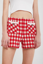 Alexa Gingham Shorts