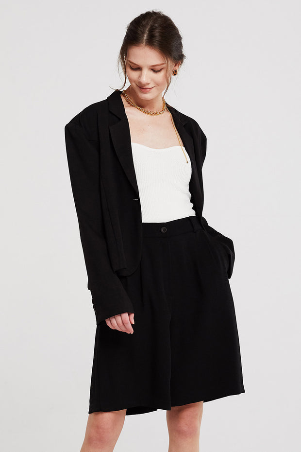 Allison Oversized Single Button Jacket