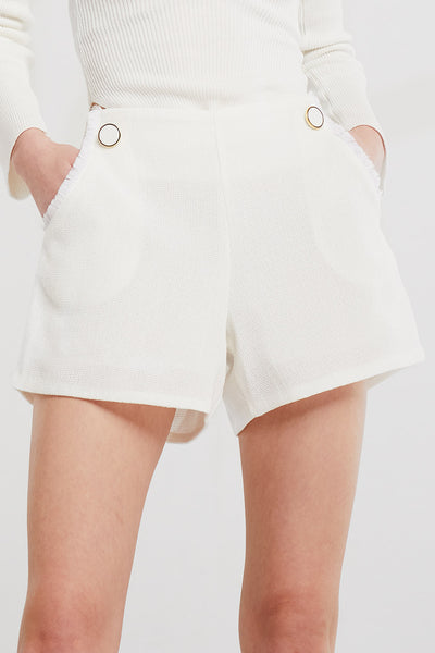 Melanie Button Shorts