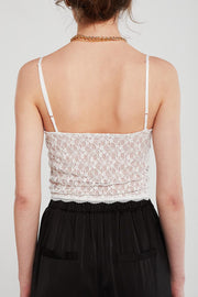 Rose Lace Cami Top