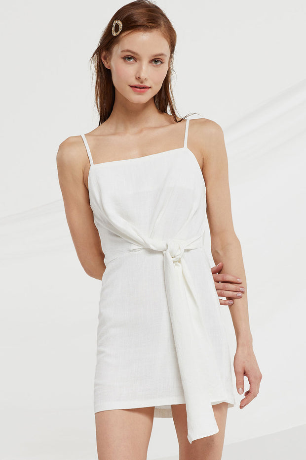 storets.com Nevaeh Waist Tie Cami Dress