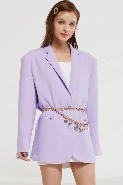 storets.com Siena Boyfriend Blazer in Candy Color