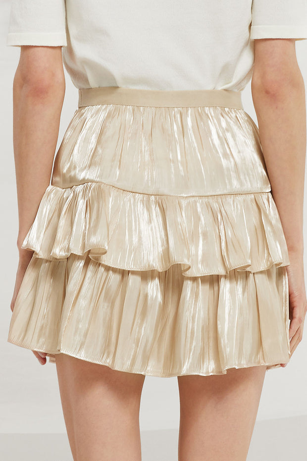 Kara Tiered Ruffle Skirt