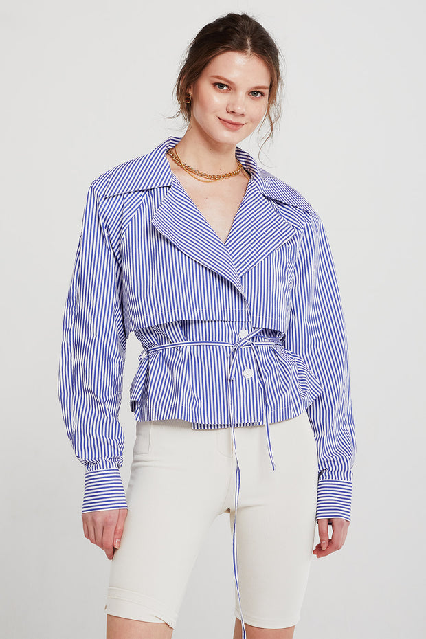 Skylar Trench Detail Shirt