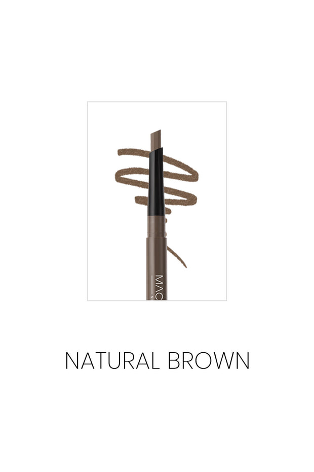MACQUEEN Newyork My Strong Auto Eyebrow Pencil - Hard Powder