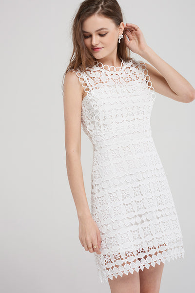 Britney Lace Punching Dress