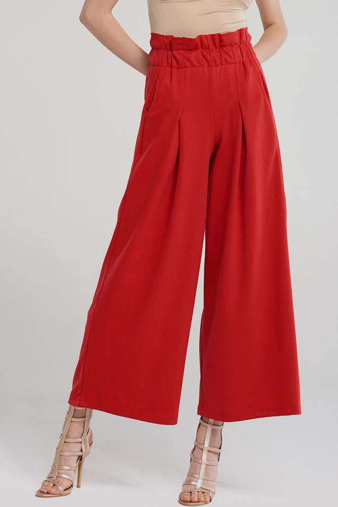 Kelly Shirred Wide Pants