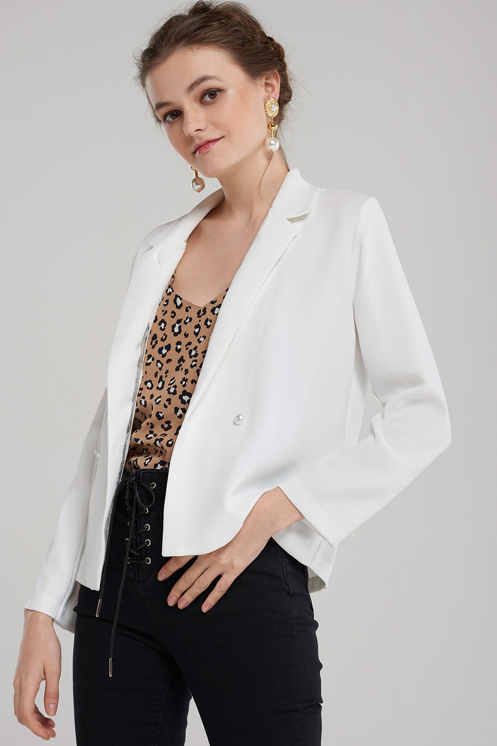 Claire Hidden Lace Jacket