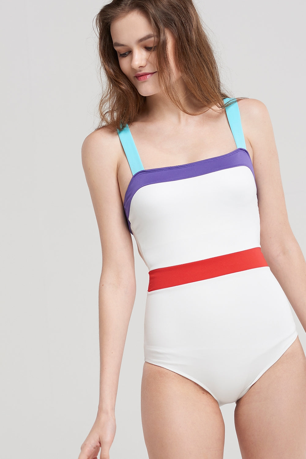 Jayla Color Block Swimsuit