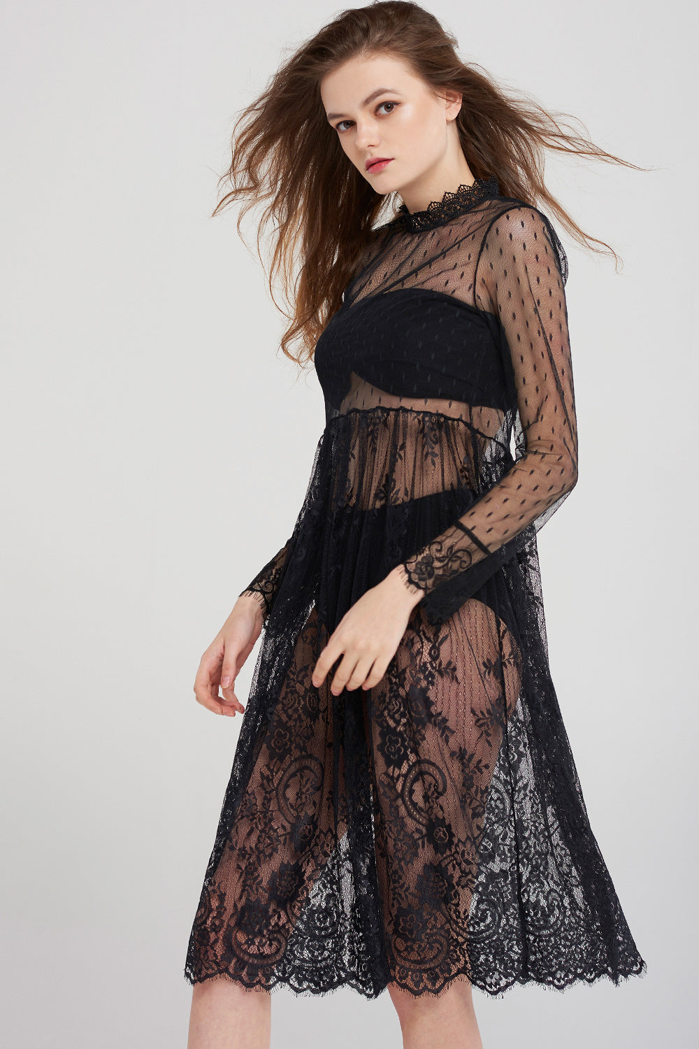 Lily Inner Lace Dress