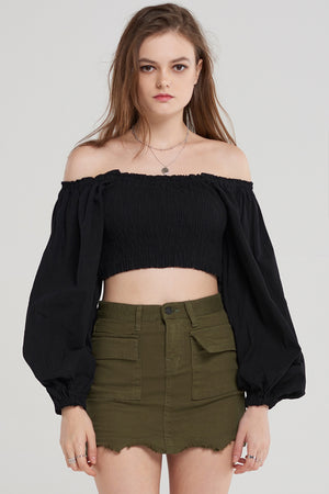 Carmen Short Off Blouse