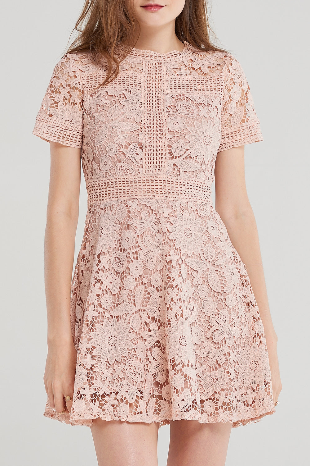 Linda Crochet Lace Dress