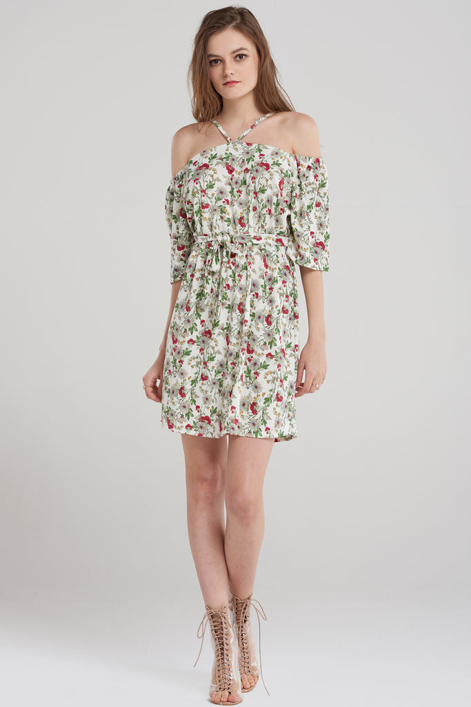 Jenny Halter Floral Dress