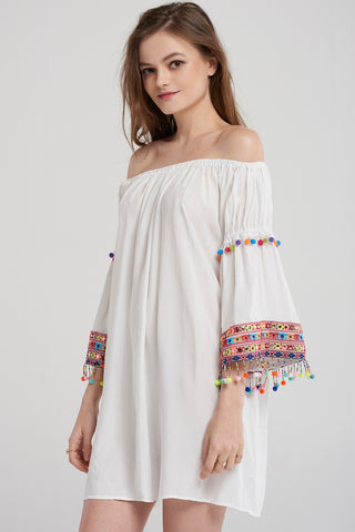 Jasmine Multi Tassel Dress