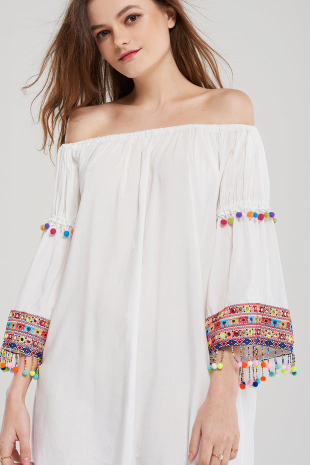 storets.com Jasmine Multi Tassel Dress