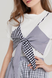Tina Gingham Check Set