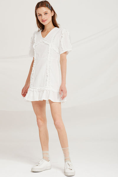 Hazel Frilled Dress by STORETS