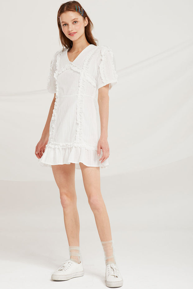 storets.com Hazel Frilled Dress