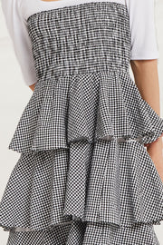 Lara Gingham Check Cancan Dress