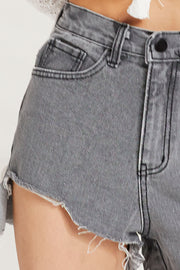 Cara Cut Off Denim Shorts