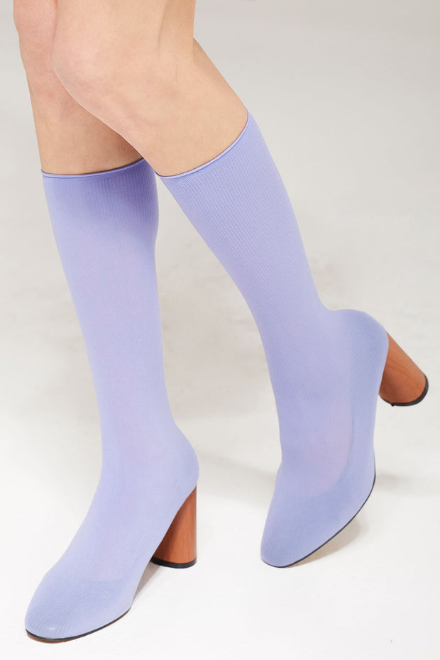 Socks Over Heeled Bootie by STORETS