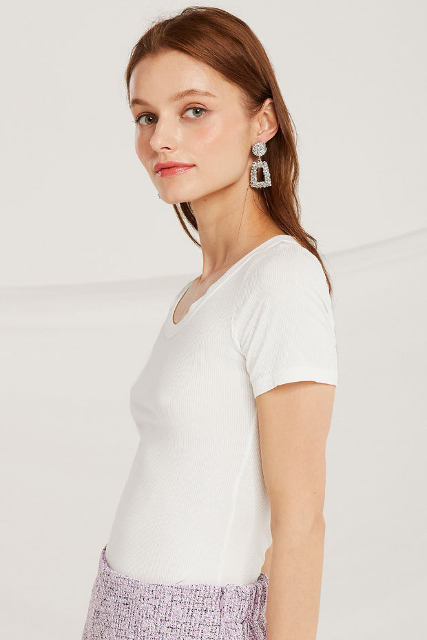 storets.com Thalia Scoop Neck Top