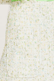 Zaria Tweed Midi Skirt