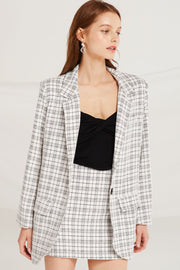Louisa Plaid Check 2-Piece Set by STORETS