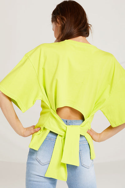 Tinley Open Back T-shrit by STORETS
