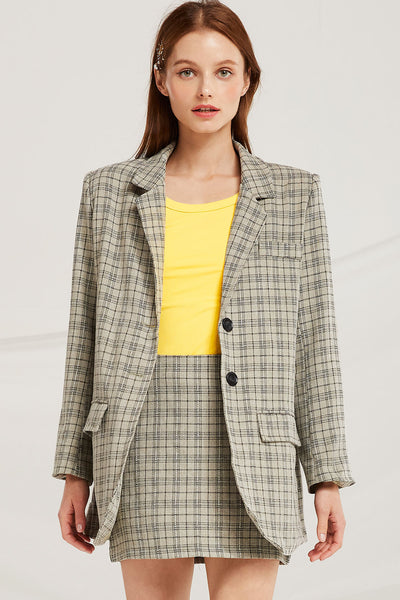 Louisa Plaid Check 2-Piece Set